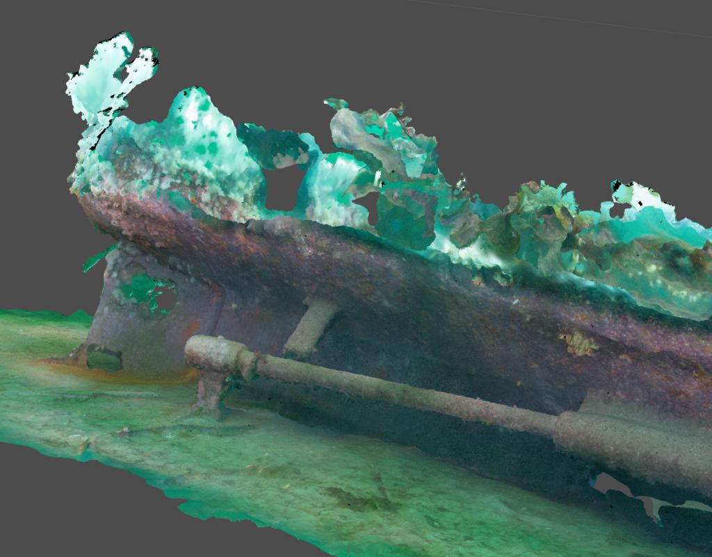 Screen shot of V83 model