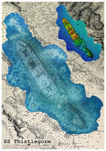 SS Thistlegorm A1 Fine Art Print Image