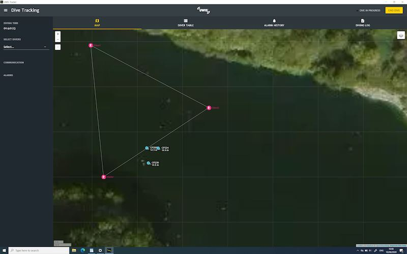 UWIS Tracker Software